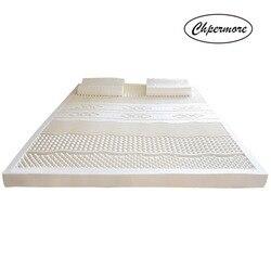 Chpermore 100% натуральный латекс татами медленный отскок матрасы складные одиночные двойные татами матрасы с белым внутренним покрытием