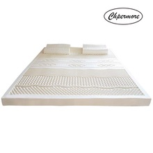 Rebound Mattresses Tatami Latex Foldable Chpermore 100%Natural Single White Slow Inner-Cover