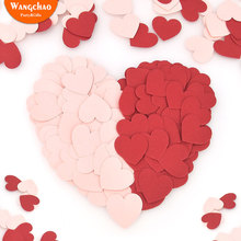 15g 3cm Love Heart Shape Confetti  Baby Boy Shower Decorations First Birthday Girl Party Happy Wedding Favors