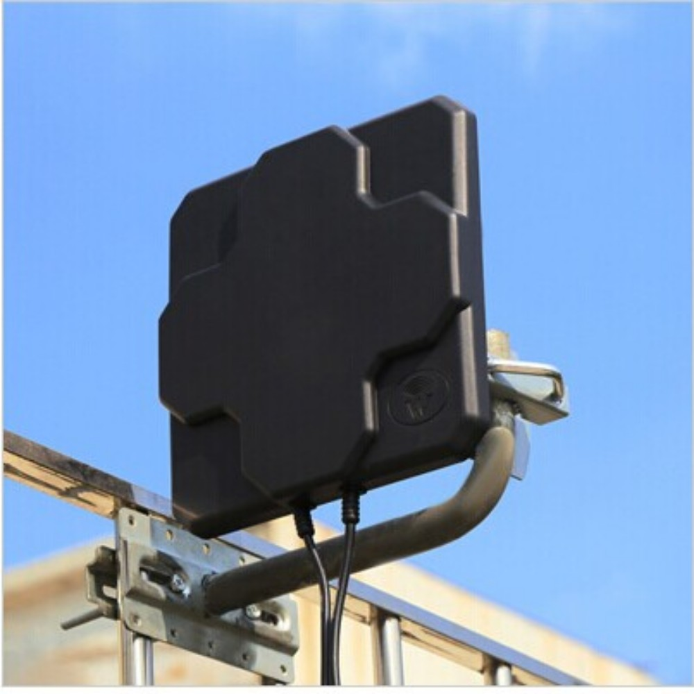 все цены на 4G Antenna mimo Outdoor Panel 18dbi High Gain 698-2690MHz 4G LTE Aerial Directional MIMO External Antenne For Wireless Router  онлайн