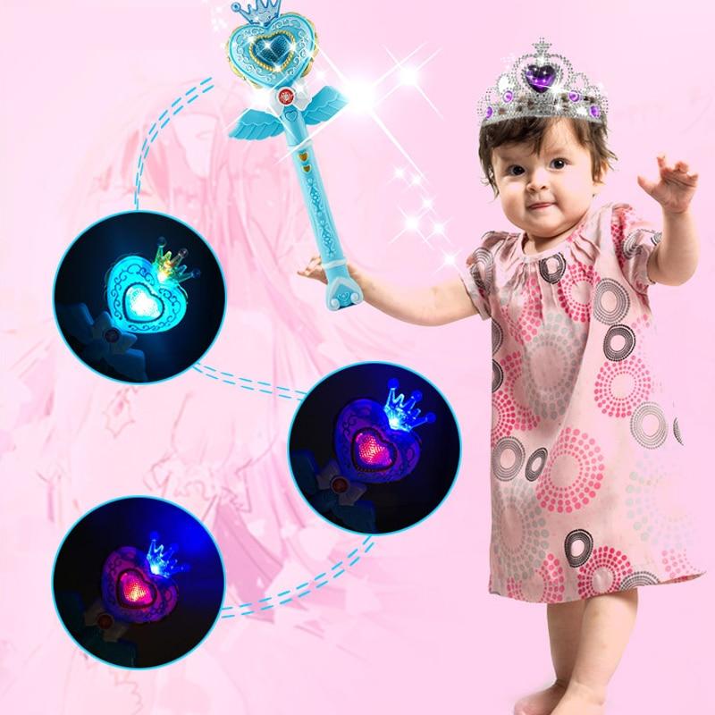 HUAILE Kids Electric Sound Muzica Flash Light Magic Wand Jucarii - Produse noi și jucării umoristice