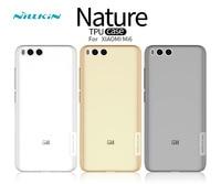 Mi 6 Case Nillkin Nature Transparent Clear Soft Silicon TPU Protector Case Cover For Xiaomi Mi6