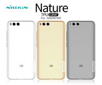 Mi 6 Case Nillkin Nature Transparent Clear Soft Silicon TPU Protector Case Cover For Xiaomi Mi6