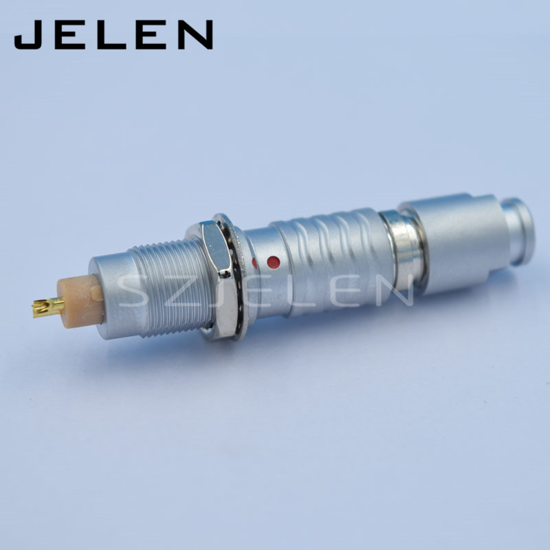 compatible LEMO 0B 2 pin connector plug and socket PN;FGG.0B.302/EGG.OB.302, Metal round 2-pin power cable with wire connector lemo connector 2p series 2 pin ckb cab m02 cla led display dedicated plug and socket connectors medical plug power connector