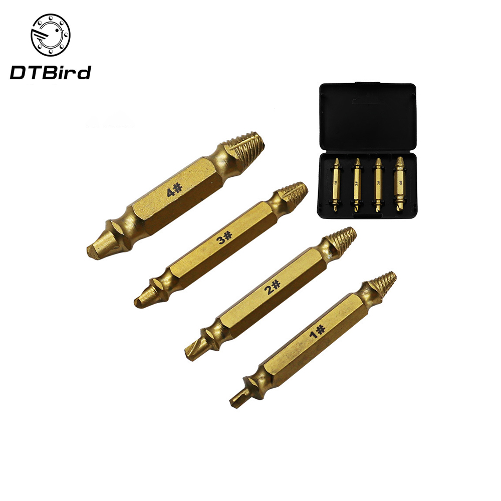 Back To Search Resultstools Hearty Double Ended Damaged Screws Extractor Broken Breakage Head Extractors Wood Bolts Remover Extract Drill Tool 1# 2# 3# 4# Dt7 Drill Bits