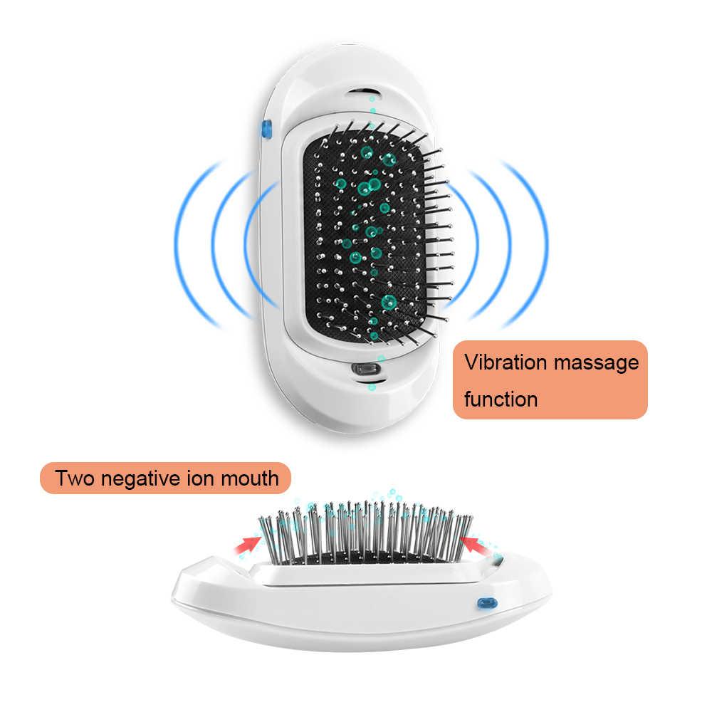 Vip 2.0 Di Động Điện Ion Lông Đôi Ion Âm Bàn Chải Tóc Tạo Kiểu Tóc Massage Da Đầu Lược