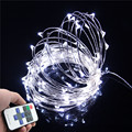 DC 5V USB LED String Light 10M 5M 10LED/M Copper Wire LED Lights Christmas String Fairy Indoor Outdoor Party Wedding Decoration