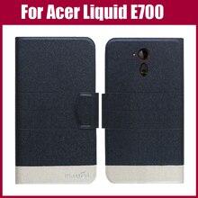 Лидер продаж! Новое поступление 5 цветов модный флип ультра-тонкий кожаный защитный чехол для acer Liquid E700 чехол