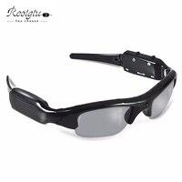 Gratis verzending RE104 smart HD Bril Camera Zonnebril mini Eyewear DVR Video Recorder PC Camera Audio