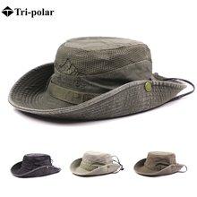 Tri polar hiking hat Мужская Складная Кепка с широкими полями