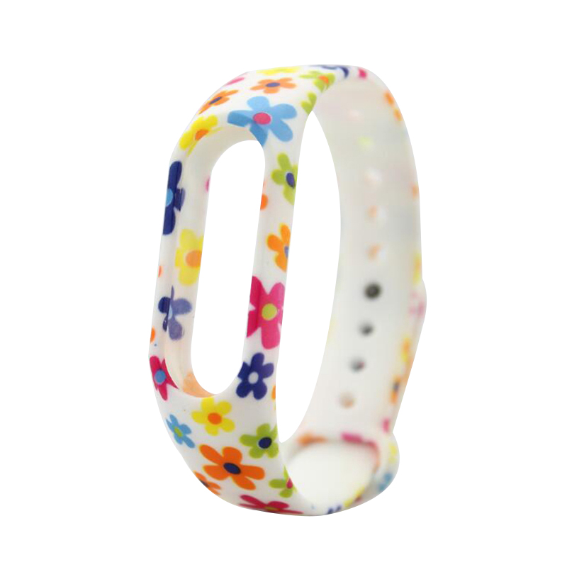 HANGRUI Colorful Xiaomi Mi Band 2 Wristband Miband 2 Strap Bracelet Strap Replacement Smart Band Accessories For Mi Band 2 Band 17