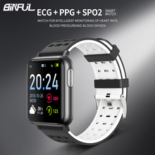 Smart Bracelet Band With Heart Rate Blood Pressure SPO2 Smart Wristband PPG ECG Waterproof Bluetooth Bracelet Smart Watch