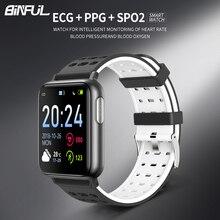 V5 Smart Bracelet Band With Heart Rate Blood Pressure SPO2 Smart Wristband PPG ECG Waterproof Bluetooth Bracelet Smart Watch