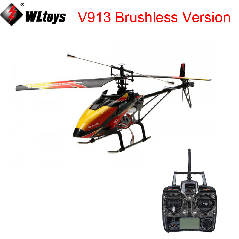 WLtoys V913 Brushless Version V913B 4CH  Big RC Helicopter RTF 2.4G with  Brushless Main MotorWLtoys V913 Brushless Version V913B 4CH  Big RC Helicopter RTF 2.4G with  Brushless Main Motor