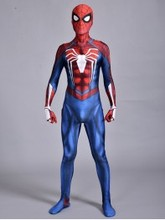 PS4 Insomniac Spiderman Costume 3D Print Spandex Cosplay for Halloween Party Hot Sale FreeShipping