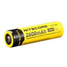 Nitecore NL186 2600mAh 18650 Protected Li-ion Battery(1-Cell ) + Free shipping