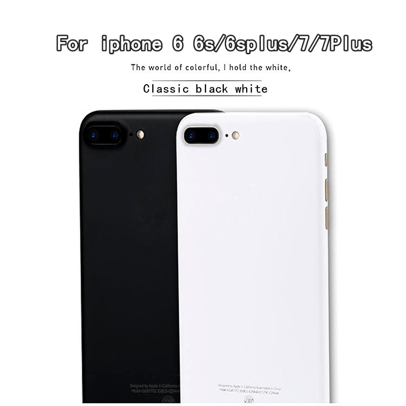 Transfiguration Black White Skins Protective Film Wrap Skin Cellphone back  paste Sticker For iphone 6 6s 6splus 7 7plus 93f4a340d