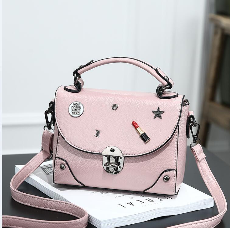 2017 Fashion MINI  luxury brand Designer Women Handbag PU Leather Bags good quality bags purses and handbags free shipping