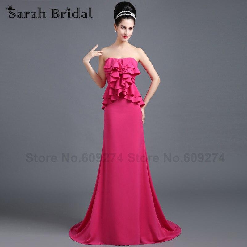 Popular Fuchsia Strapless Dress-Buy Cheap Fuchsia Strapless Dress ...
