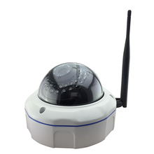Аудио + wi-fi беспроводной крытый HD 960 P антивандальный металлический базы FTP 30IR огни Безопасности