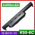 4400 mah batería del ordenador portátil para asus a32-k55 a33-k55 a45d a45de a45dr A45N A45V A45VD A45VG A45VM A45VS A55 A55A A55D A55DE A55DR