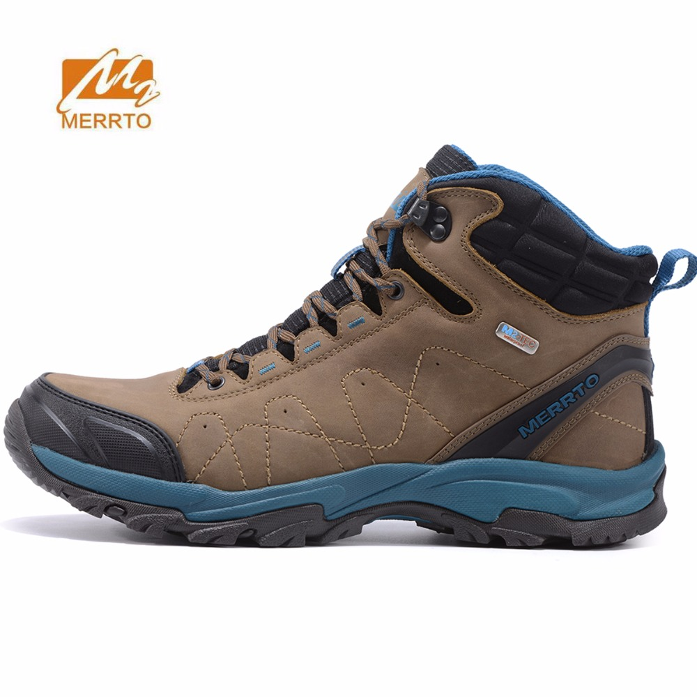MERRTO Women's Winter Waterproof Outdoor Hiking Trekking Boots Shoes Sneakers For Women Winter Climbing Mountain Boots Shoes цена