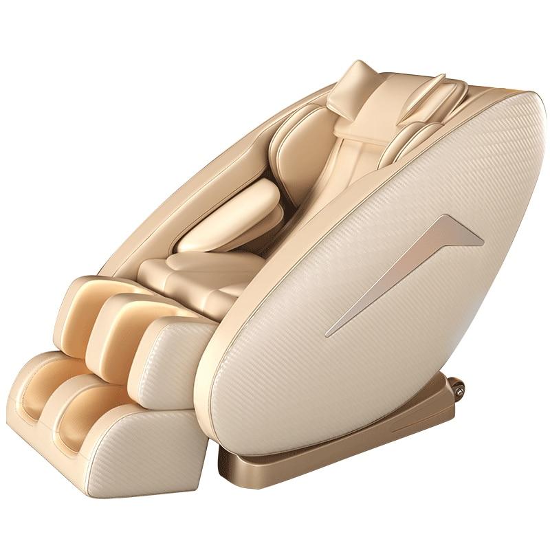4D Новый массажное кресло домой полный тело шея ног капсула Автоматическая Электрический Диван разминающий массаж шиацу массажер для акупу...