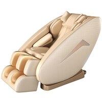 4D Новый массажное кресло домой полный тело шея ног капсула Автоматическая Электрический Диван разминающий массаж шиацу массажер для акупу