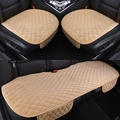 Leather piece set single car mats four seasons general seat car cushion car heated pad car seat covers