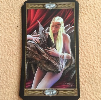 New tarot board game Tarot of Draconis Origional English Version Best Gift For Friends