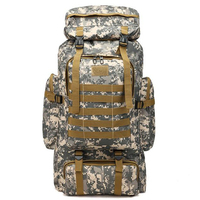 Military Tactical Assault Backpack Hiking Bag Extreme Water Resistant Rucksack Out Bag for Traveling, Camping, Trekking & Hikin