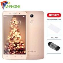 Оригинальный Doogee HOMTOM HT17 Pro 5.5 дюймов 4 г мобильного телефона Android 6.0 MT6737 Quad Core 2 ГБ Оперативная память 16 ГБ Встроенная память смартфона отпечатков пальцев телефона