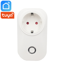 Tuya Smart Life App Plug Wifi Socket 16A Power Meter EU FR UK US AU BR Chile Switzerland Israel Alexa Google Home