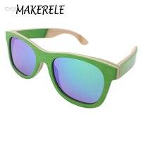 Good Discount Skateboard Wooden Aviator Sunglasses Women Polarized Brand 2017 From Makerele Designer Glasses