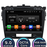Roadlover Android 9.0 Car DVD Player Radio For Suzuki Vitara 2015 Stereo GPS Navigation Automagnitol Double Din HD Screen Audio