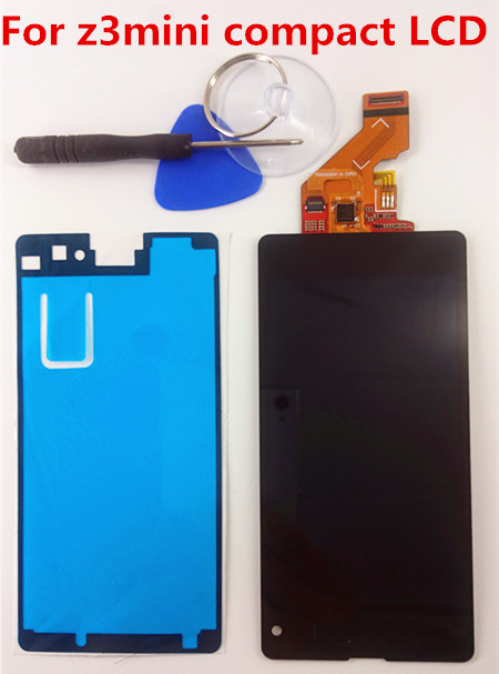For Sony Xperia Z1 Mini Compact D5503 Touch Digitizer LCD Screen Display Assembly Replacement +Tools+Adhesive