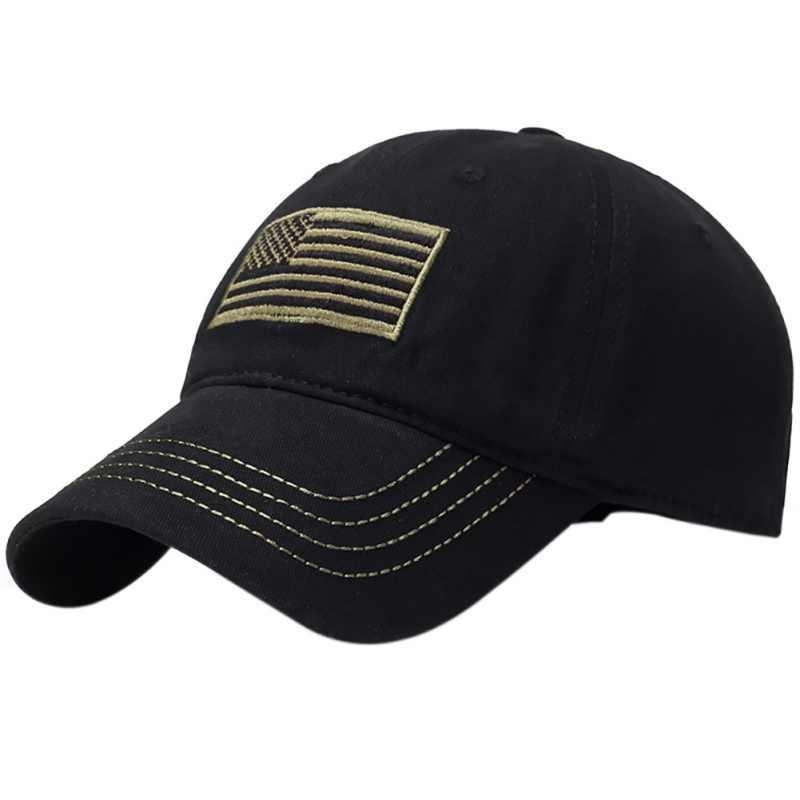 Шляпа с вышитым флагом, с желтой линией, для кемпинга, низкопрофильные, тактические мужские шапки для полиции, для сотрудников полиции, сзади, синяя вышитая шапка