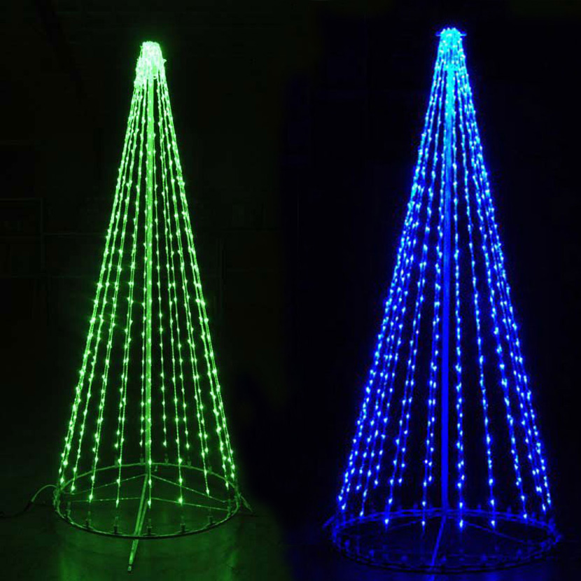 aliexpresscom buy 1 meters 3400leds blue led christmas tree lights of blue led tree for hotel or bar decorations from reliable tree light suppliers on - Led Christmas Trees