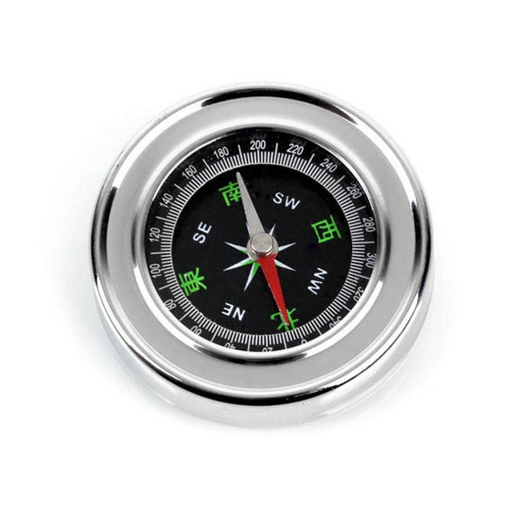 Mini, Portable, Steel, Navigation, For, Compass