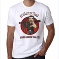 The Walking Dead Negan Cosplay Customied Men Summer Short Sleeve T Shirt Plus Size S-XXXL