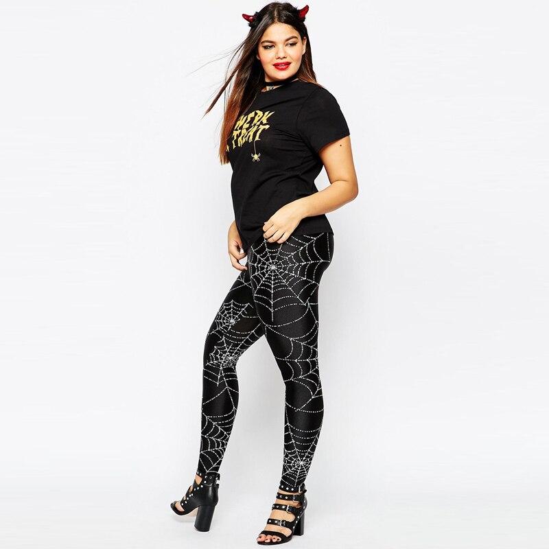 Plus Size Halloween Leggings
