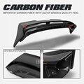 Углеродное крыло губы для F56 Mini Cooper S DAG Стиль углеродного волокна задний спойлер на крышу 2psc Комплект кузова отделка тюнинг для мини F56 гонки