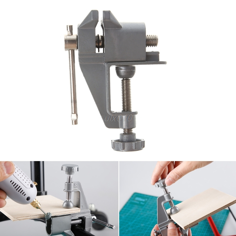 30mm Jewelers Hobby Miniature Aluminum Clamp On Table Bench Vise Tool Vice G03 Drop ship