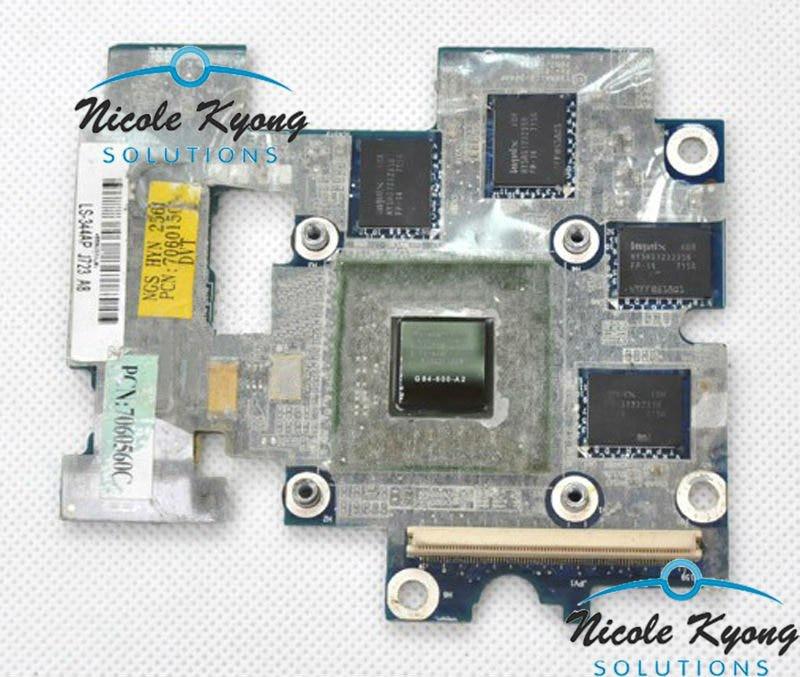 WK743 G84-600-A2 8600M LS-344AP K000056570 965 VGA Video Card for Toshiba P200 P205 X205 X200 laptop цена
