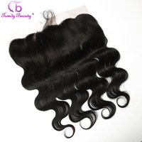 Trendy Beauty 13x4 Lace Frontal Brazilian Body Wave Ear To Ear Pre Plucked Lace Frontal Closure