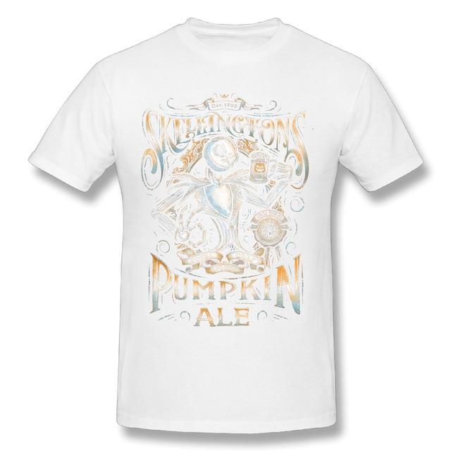 d5856f43404a 3D Print t shirtMen Jack Skellington Pumpkin The Nightmare Before Christmas  white Stylish Graphic Homme Tees Shirt