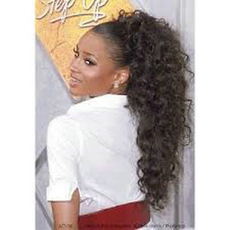 Remarkable Aliexpress Com Buy Clip In Black Afro Hairstyles 2015 Ponytail Hairstyles For Women Draintrainus