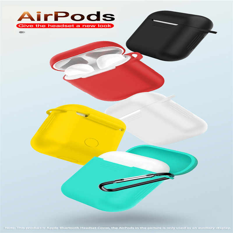 SIFREE Airpods Case Slicone Protective Cover Box Bag Bluetooth Headset Case Drop Proof Bluetooth Headset Case Waterproof