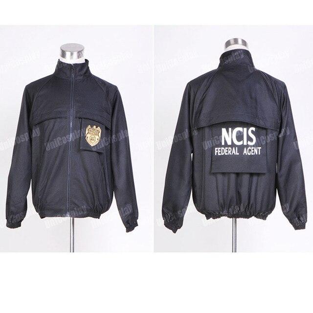 Cosplay Ncis Noir Le Uniforme Personnel Costume Veste De S0qn4FR1B