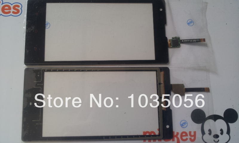 20Pcs/Lot For Xiaomi Red Rice Digitizer Touch Panel Replacement Parts Touch Glass Screen Lens ; DHL EMS Free Shipping